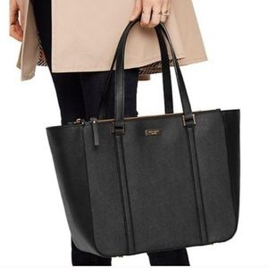 Kate Spade Newbury Lane Briar Tote - Black Leather